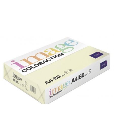 Spalvotas popierius IMAGE COLORACTION Atoll, 80g/m2, A4, 500 lapų, vanilinė (Vanilla)