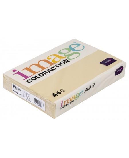 Spalvotas popierius IMAGE COLORACTION Dune, 80g/m2, A4, 500 lapų, kreminė (Cream)