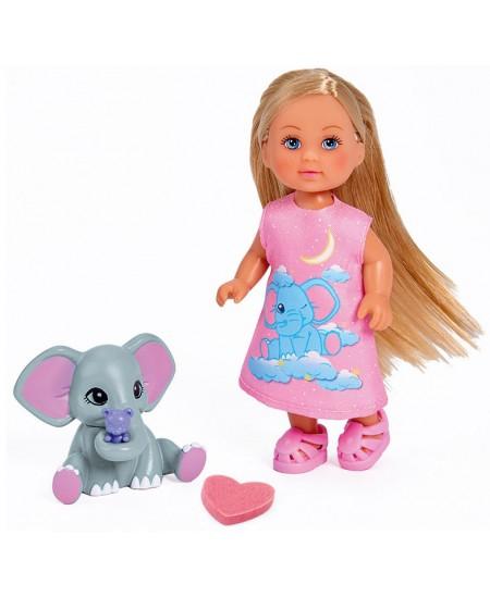 Lėlytė Evi su magišku drambliuku SIMBA