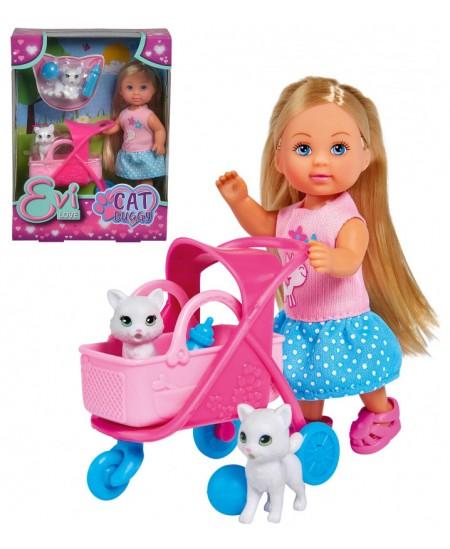 Lėlytė Evi su kačiukais SIMBA