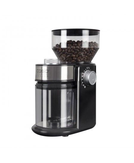 Caso Coffee grinder Barista Crema Black, 150 W, 240 g, Number of cups 12 pc(s)