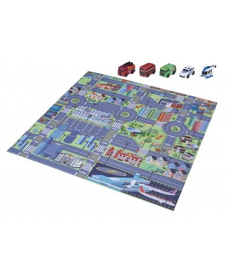 """Lavinamasis - žaidimų kilimėlis TEAMSTERZ """"Miestas"""""""