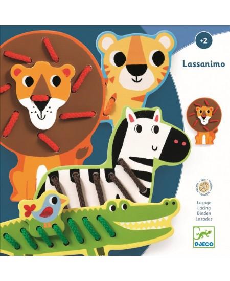 Lavinamasis varstymo žaislas DJECO Lassanimo
