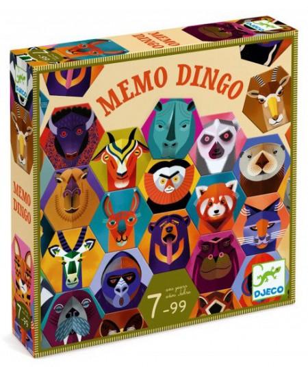 Atmintį lavinantis žaidimas DJECO Memo Dingo