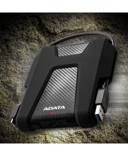 ADATA External Hard Drive HD680 1000 GB, USB 3.1, Black