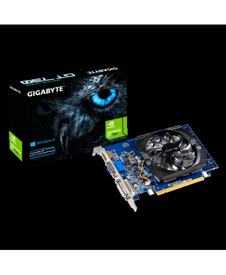 GIGABYTE GV-N730D3-2GI  Gigabyte GV-N730D3-2GI (rev. 3.0) NVIDIA, 2 GB, GeForce GT 730, DDR3, PCI Express 2.0, Processor frequen