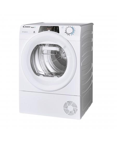 Candy Dryer Machine ROE H10A2TE-S  Energy efficiency class A++, Front loading, 10 kg, Heat pump, Big Digit, Depth 58.5 cm, Wi-Fi
