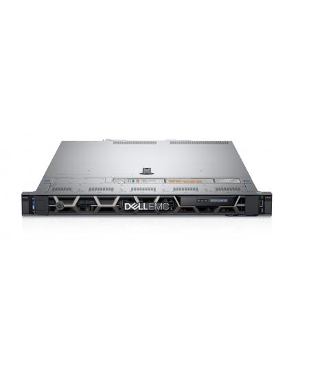 Dell PowerEdge R440 Rack (1U), Intel Xeon, 1x Silver 4210R, 2.4 GHz, 13.75 MB, 20T, 10C, RDIMM, 2666 MHz, No RAM, No HDD, Up to