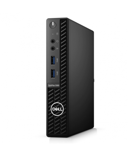 Dell OptiPlex  3080 Desktop, Micro, Intel Core i7, i7-10700T, Internal memory 16 GB, DDR4 non ECC, SSD 512 GB, Keyboard language