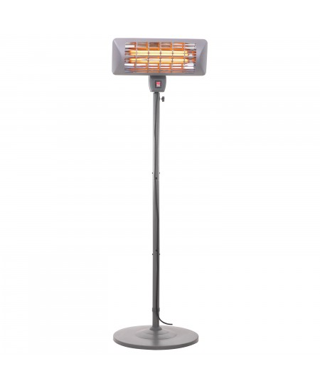 Gerlach Patio Heater GL 7734 Standing, 1800-2000 W, Number of power levels 2, Suitable for rooms up to 14 m², Grey