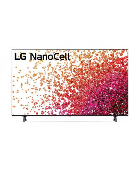 """LG 50NANO753PR 50"""" (126 cm), Smart TV, WebOS, 4K HDR Nano Cell, 3840 x 2160, Wi-Fi, DVB-T2/C/S2, Black"""