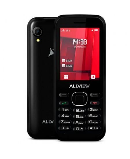 "Allview M8 Stark Black, 2.4 "", TFT, 240 x 320 pixels, Dual SIM, Bluetooth, 2.0, Built-in camera, Main camera 0.3 MP, 1000 m"