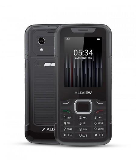"""Allview M10 Jump Black, 2.8 """", QVGA, 240 x 320 pixels, 64 MB, 128 MB, Dual SIM, 3G, Bluetooth, 2.0, USB version microUSB, B"""
