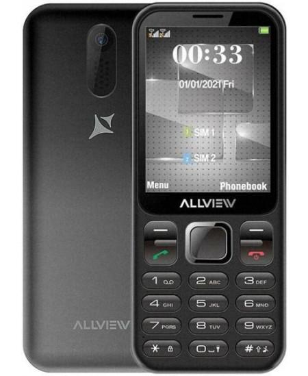 "Allview M20 Luna Black, 2.8 "", 240 x 320 pixels, 32 MB, Dual SIM, micro-SIM and nano-SIM, Bluetooth, Built-in camera, Main"