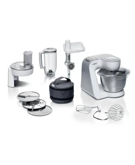 Bosch Kitchen machine MUM58231 1000 W, Number of speeds 7, Bowl capacity 3.9 L, White/Silver