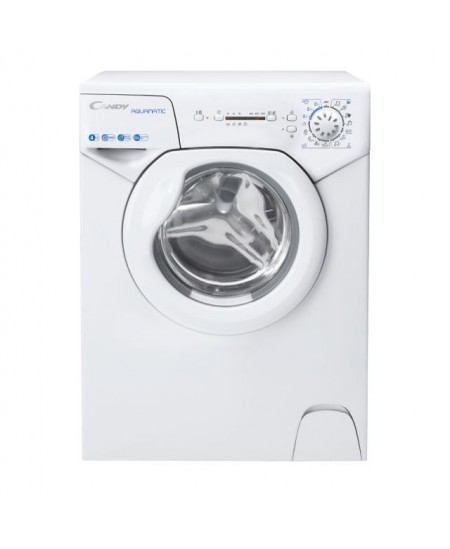 Candy Washing Machine AQUA 104LE/2-S Energy efficiency class F, Front loading, Washing capacity 4 kg, 1000 RPM, Depth 43.5 cm, W