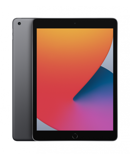 "Apple 8th Gen (2020) iPad Wi-Fi 10.2 "", Space Grey, Retina touch screen with IPS, Apple A12 Bionic, 3 GB, 128 GB, Wi-Fi, Fr"