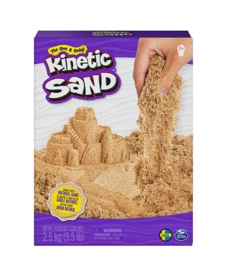 Kinetinis smėlis KINETIC SAND, rudas, 2,5 kg