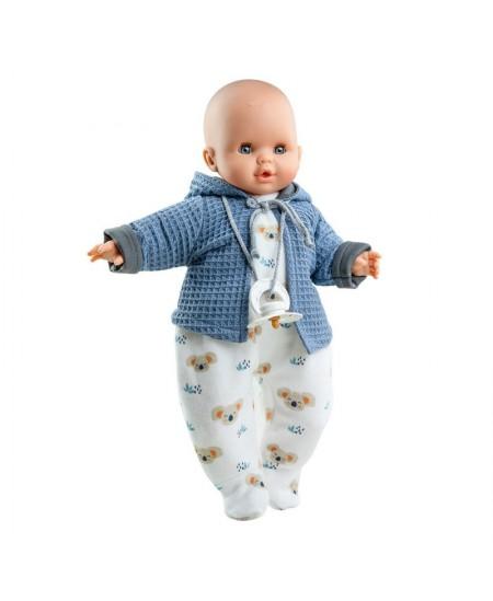 Lėlė kūdikis PAOLA REINA Alex, 36 cm