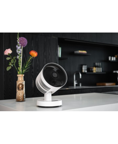 Duux Fan - Heater Stream Heating + Cooling Stand Fan, Timer, Number of speeds 4, Oscillation, White