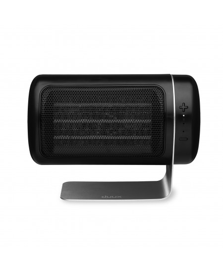 Duux Heater Twist Fan Heater, 1500 W, Number of power levels 3, Suitable for rooms up to 40 m², Black