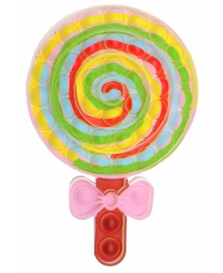 Antistresinis suvenyras POP IT Saldainis ledinukas