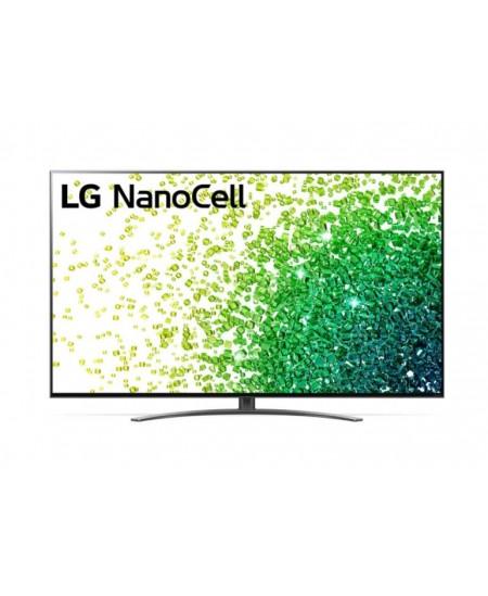 "LG 65NANO863PA 65"" (164 cm), Smart TV, WebOS, 4K UHD Nanocell, 3840 x 2160, Wi-Fi, DVB-T/T2/C/S/S2, Black"