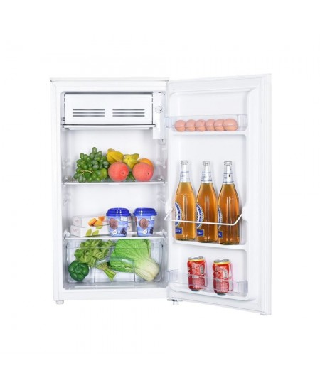 Goddess Refrigerator GODRSD084GW8SSF Energy efficiency class F, Free standing, Larder, Height 85 cm, Total net capacity 93 L, Wh