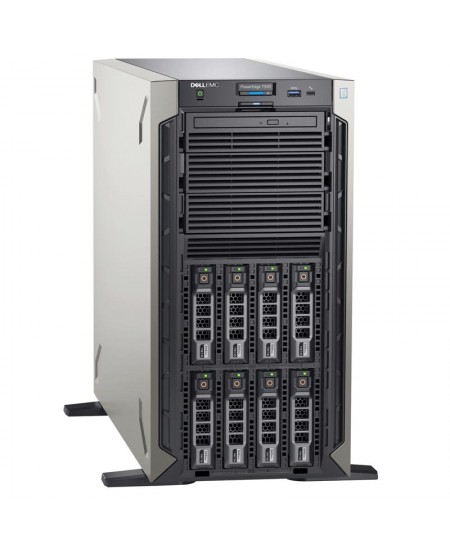 Dell PowerEdge T340 Tower, Intel Xeon, E-2224, 3.4 GHz, 8 MB, 4T, 4C, 1x16 GB, UDIMM DDR4, 2666 MHz, 1000 GB, HDD, Up to 8 x 3.5