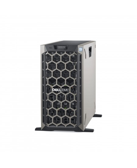Dell PowerEdge T440 Tower, Intel Xeon, Silver 1x4208, 2.1 GHz, 11 MB, 16T, 8C, 1x16 GB, RDIMM DDR4, 3200 MHz, 600 GB, Up to 8 x