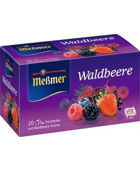 Vaisinė arbata MESSMER, miško uogų skonio, 20 vnt.