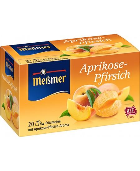 Vaisinė arbata MESSMER, abrikosų-persikų skonio, 20 vnt.