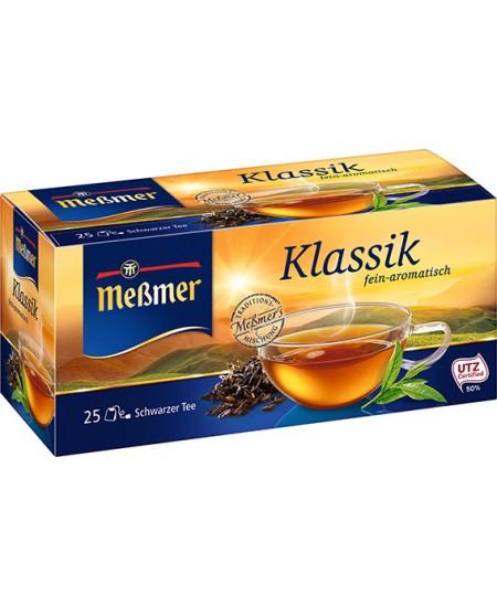Juodoji arbata MESSMER klasikinė, 25 vnt.