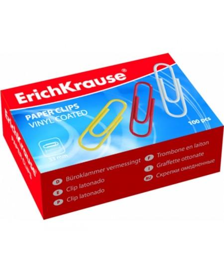 Spalvotos sąvaržėlės ERICH KRAUSE, 33 mm, 100 vnt.