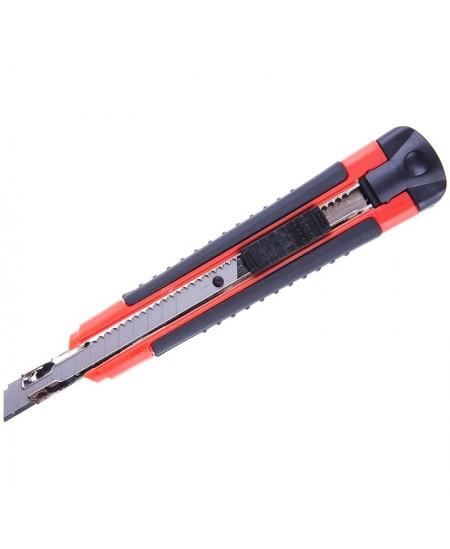 Maketavimo peiliukas ERICH KRAUSE Arrow lock, 9 mm, plastikinis pagrindas