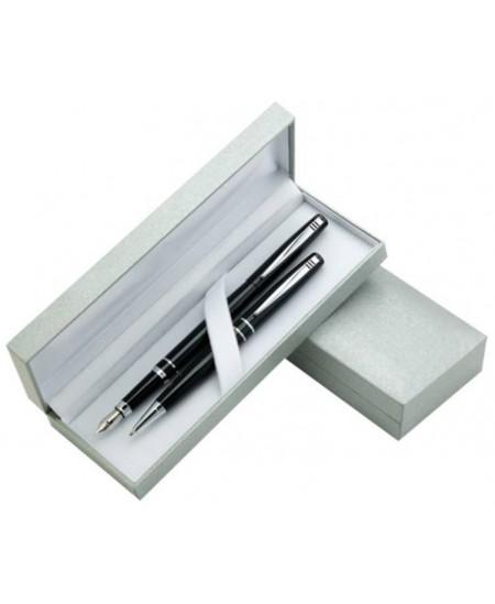 Rinkinys OMEGA, tušinukas + plunksnakotis, dovanų dėžutėje