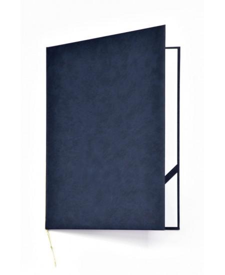 Aplankas sveikinimams ROYAL, minkštas matinis viršelis, A4, mėlynas