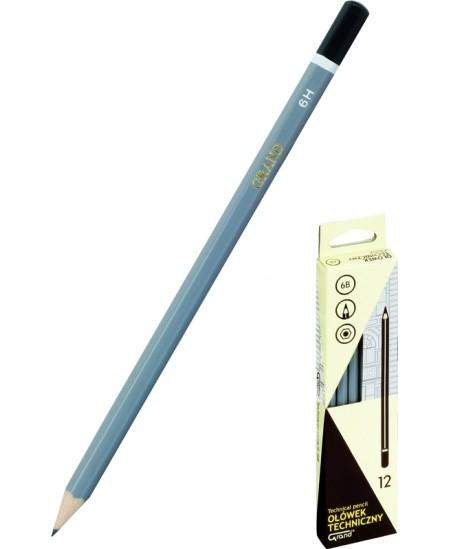 Pieštukas GRAND Technic, padrožtas, 2B