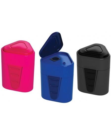 Ergonomiškas drožtukas ERICH KRAUSE 3-Touch su plastikine talpa