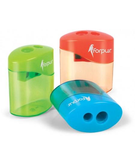 Drožtukas su plastikine talpa FORPUS, dviejų skylių