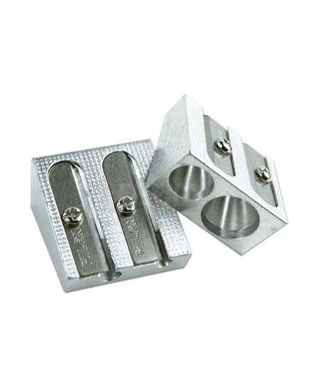 Metalinis drožtukas FORPUS, dviejų skylių