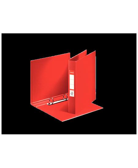 Žiedinis segtuvas ESSELTE, 2 žiedų, A5, 35 mm, raudonas