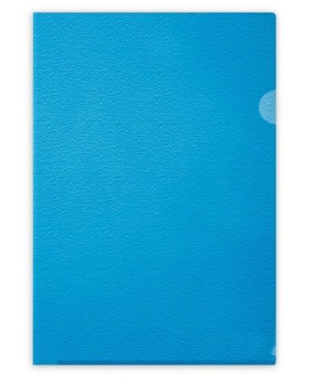 ėklas L formos FORPUS, 115 mikr., A4, mėlynas