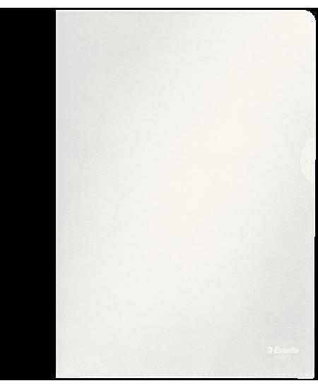 Dėklas L formos ESSELTE, 105 mikr., A5, skaidrus