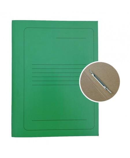 artoninis aplankas su įsegėle SM-LT, 300 g/m2, A4, žalias