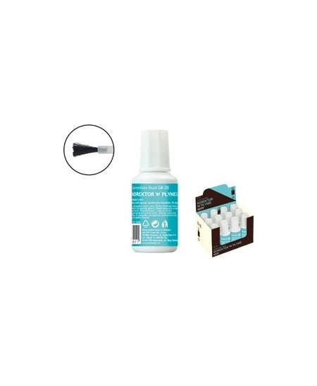 Korekcinis skystis GRAND GR-20 su teptuku, 20 ml