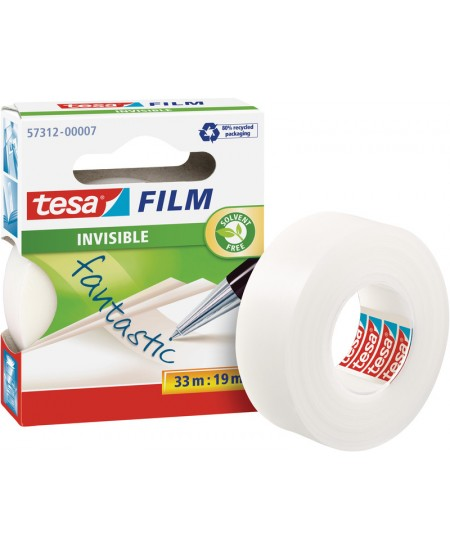 Matinė lipni juostelė tesafilm® INVISIBLE, 19 mm x 33 m