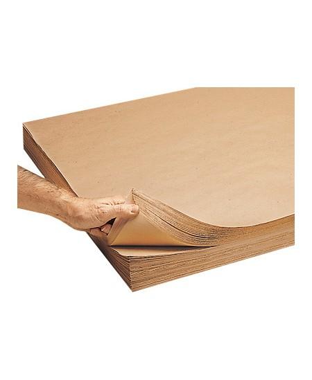 Pakavimo popierius linijuotas MG Kraft, lapais, 105 x 126 cm, 5kg (40 lapų)