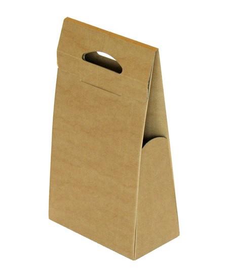 Gofruoto karto dėžutės 234x124x410 mm, rudos spalvos, 5 vnt.