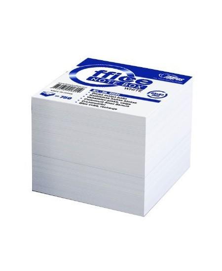 Lapeliai užrašams, 85x85 mm, balti, 800 lapelių
